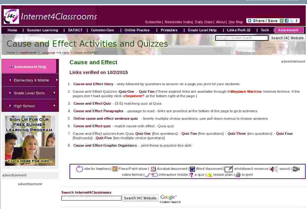 online education cause and effect Cause and effect: online classes 257 words | 1 pages cause and effect: online classes a recent report in the chronicle for higher education found that institutions report dropout rates ranging from 20 to 50 percent for distance learners.