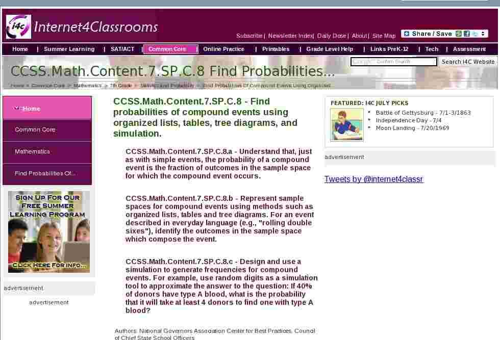 ccssmathcontent7spc8 find probabilities of compound