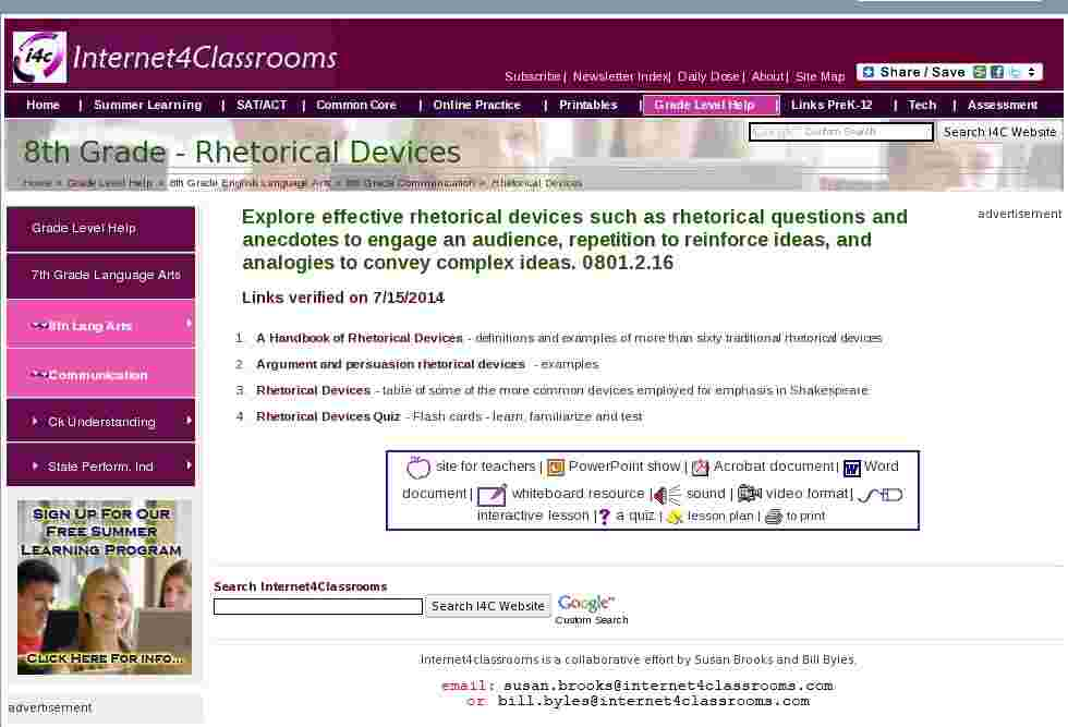 rhetorical devices table Study the following poetic devices learn the definitions and  click on the terms to see examples and get a more detailed.