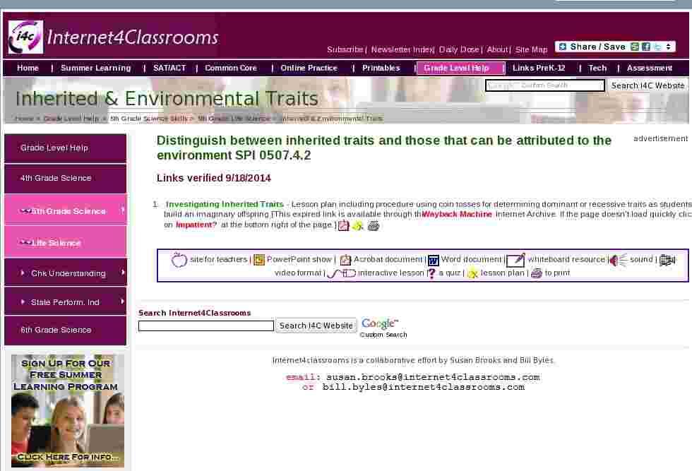 environmental traits - photo #14