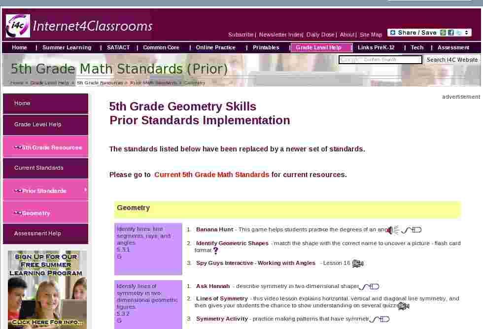 3rd Grade Social Studies Resources Internet4Classrooms 6516754 ...