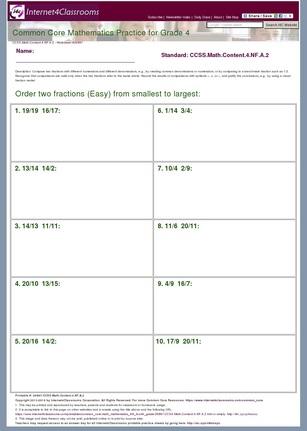 Grade Level Skills Help at Internet 4 Classrooms 2124232 ...