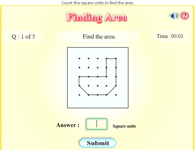 Fourth Grade Interactive Math Skills Measurement