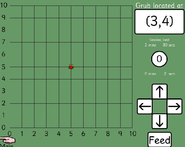 Online Game Bug Food Coordinates