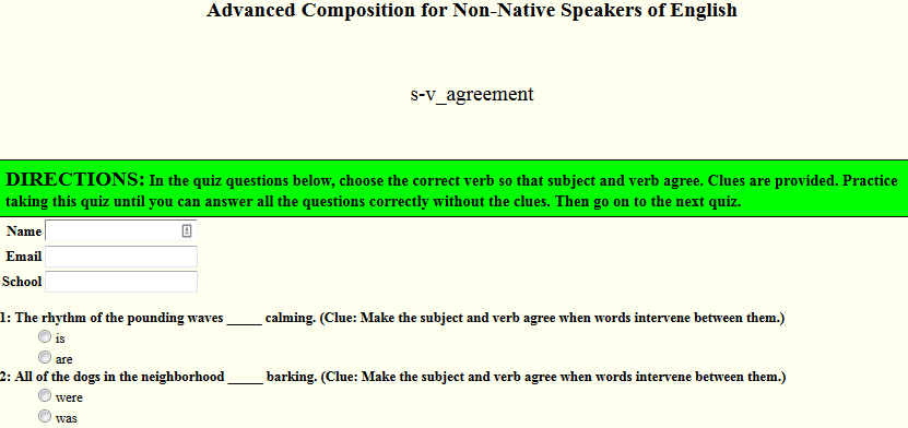 All Worksheets Subject Verb Agreement Worksheets Advanced Level – Subject Verb Agreement Worksheet 4th Grade