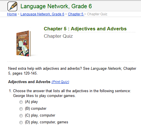 Sixth Grade Language Skill Builders - Adjectives and Adverbs