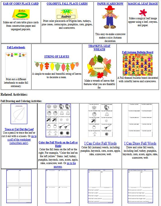 click image to enlarge - School Papers To Print Out