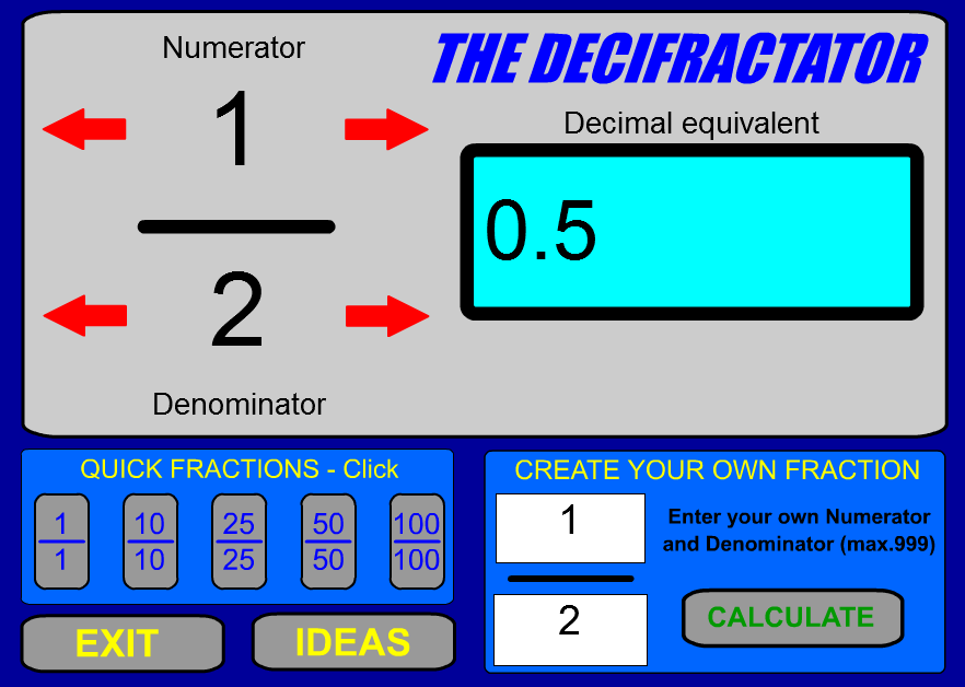 Fifth Grade Interactive Math Skills - Decimals
