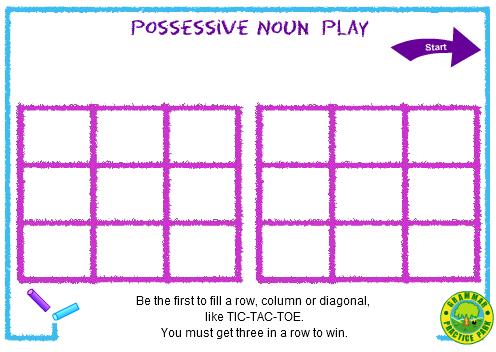 Possessive nouns Second (2nd) Grade Skill Builders Language Arts ...
