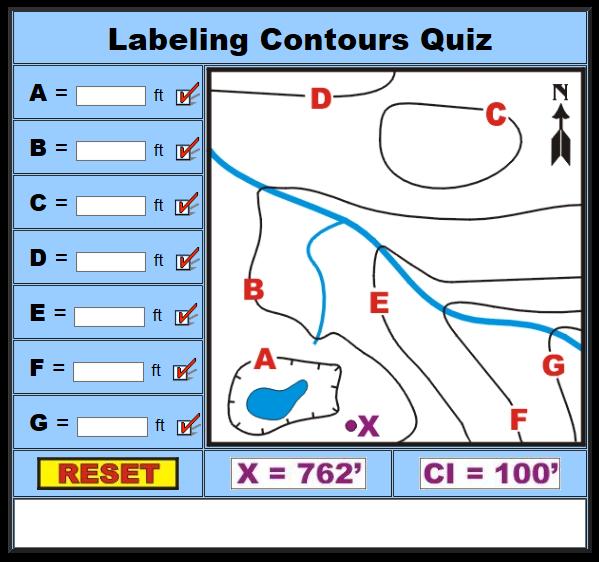 Seventh Grade Interactive Math Skills - Map Skills