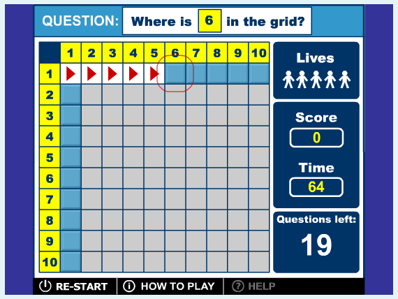 Third Grade Math Skill Builders interactive help on standardized tests