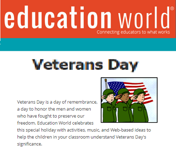 Veterans Day At Internet 4 Classrooms