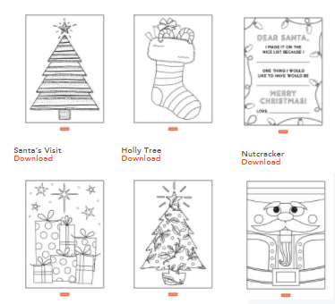 35 Unique Coloring Pages That Both Kids And Adults Can Enjoywinter Scenes Filled With Penguins Snowmen Cute Gingerbread Men Christmas Trees More