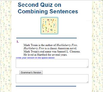 Seventh Grade Language Skill Builders - Sentence Structure