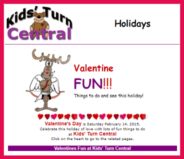 Activities For Valentines Day At Internet 4 Classrooms