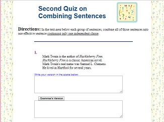 Sixth Grade Language Skill Builders - Sentence Structure