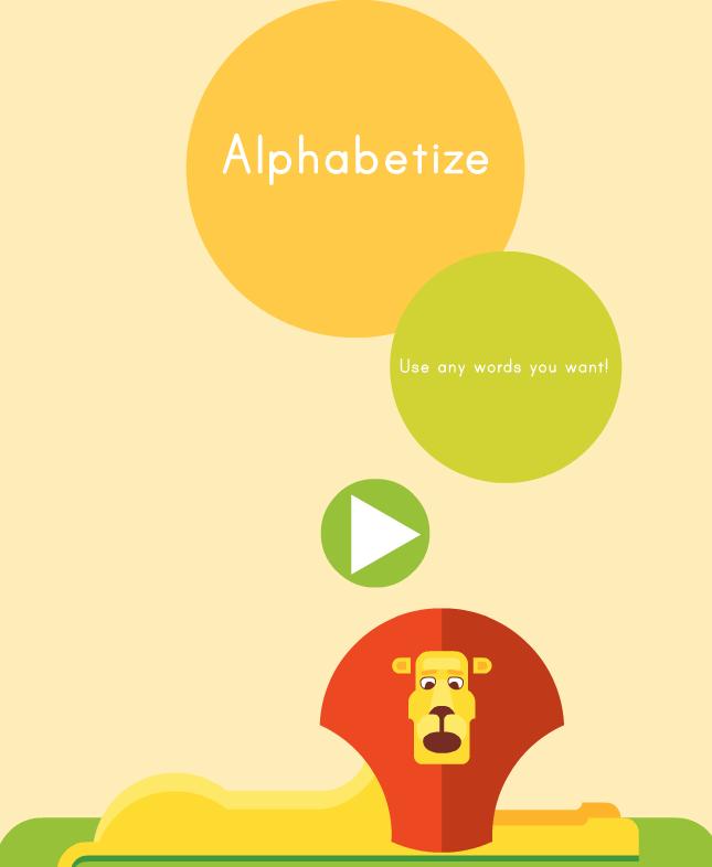 Third Grade Language Skill Builders - Alphabetical Order