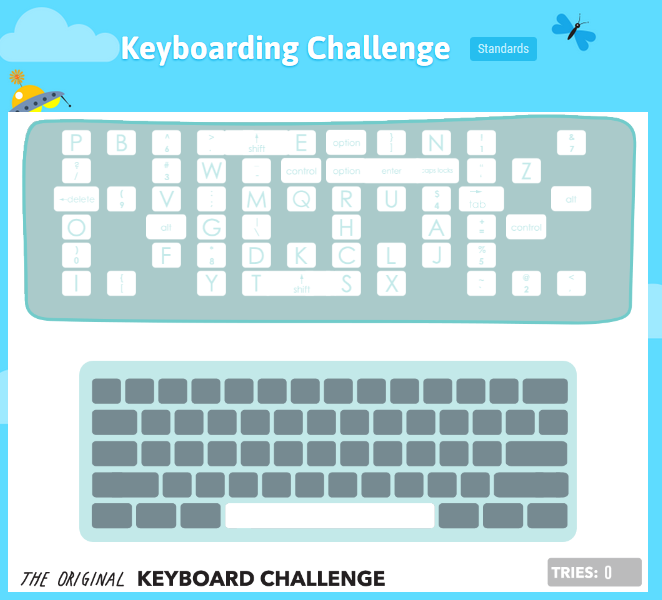 CCSS Keyboarding Standards