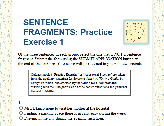 Fourth Grade Language Skill Builders - Sentence Structure