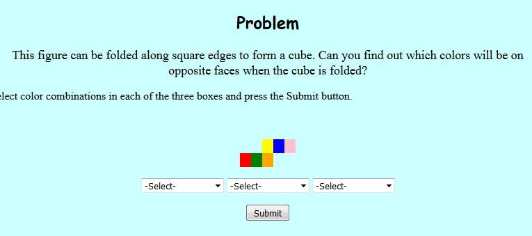 Sixth Grade Interactive Math Skills Transformations