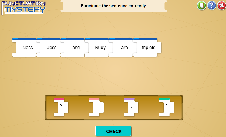 Punctuation second 2nd grade skill builders language arts at i4c this game will help students be able to use commas and quotation marks in addresses and dialogues and form and use possessives ccuart Image collections