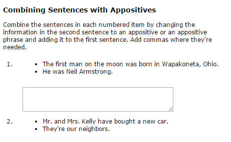 Sixth Grade Language Skill Builders Conjunctions